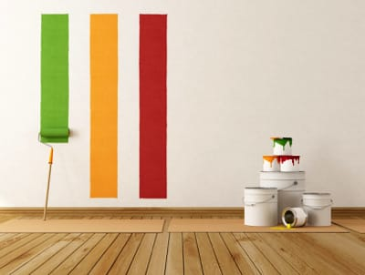Les différents types de peinture